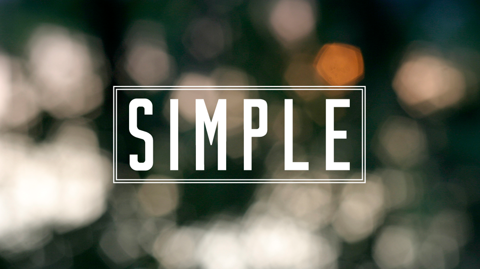 Highland Park United Methodist Church | Sermon Series: Simple